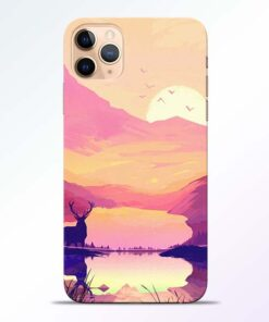 Deer Nature iPhone 11 Pro Back Cover