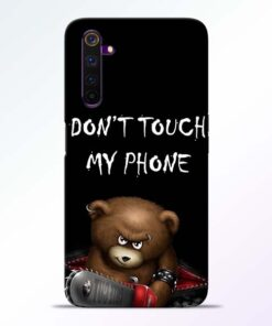 Don't touch Realme 6 Back Cover
