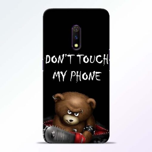 Don't touch Realme X Back Cover