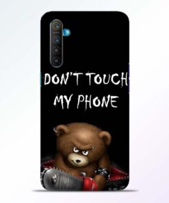 Don't touch Realme XT Back Cover