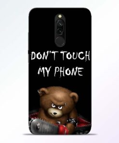 Don't touch Redmi 8 Back Cover