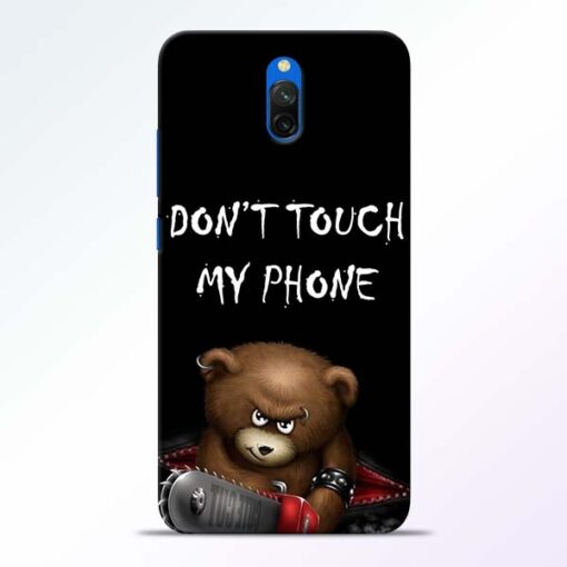 Don't touch Redmi 8A Dual Back Cover