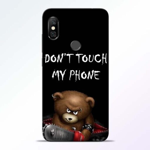 Don't touch Redmi Note 6 Pro Back Cover