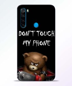 Don't touch Redmi Note 8 Back Cover