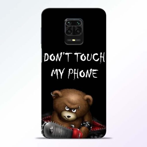 Don't touch Redmi Note 9 Pro Back Cover