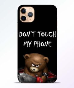 Don't touch iPhone 11 Pro Back Cover