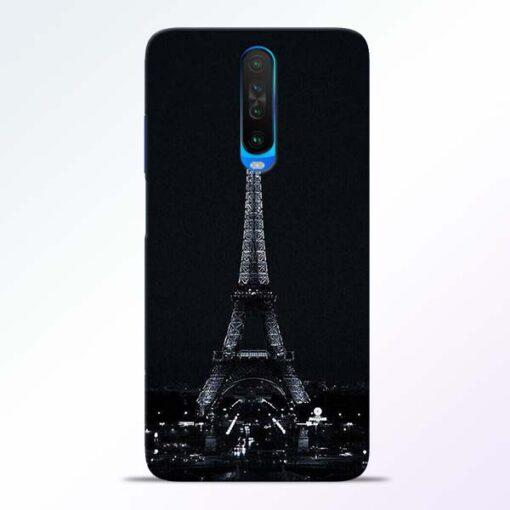 Eiffel Tower Poco X2 Back Cover