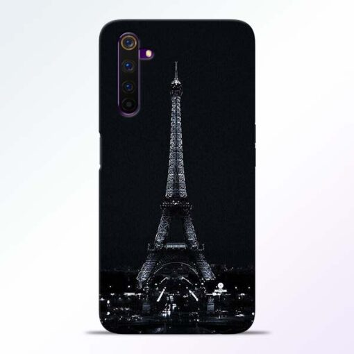 Eiffel Tower Realme 6 Back Cover