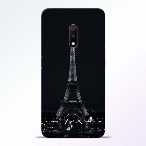 Eiffel Tower Realme X Back Cover