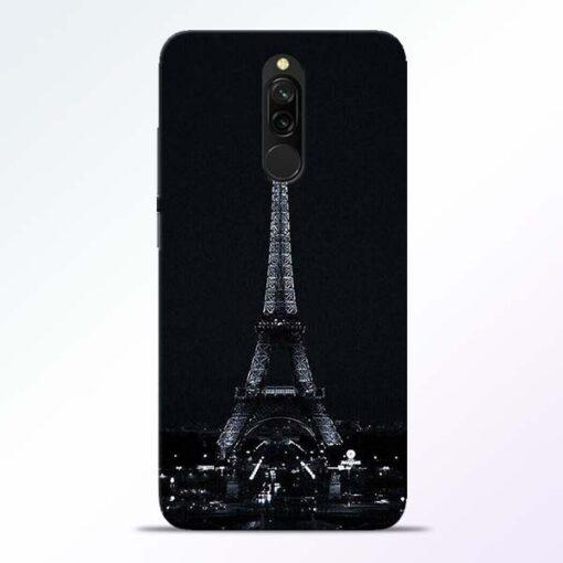 Eiffel Tower Redmi 8 Back Cover