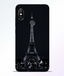 Eiffel Tower Redmi Note 6 Pro Back Cover