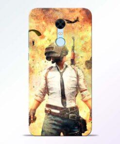 Fire Pubg Redmi Note 5 Back Cover
