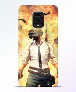Fire Pubg Redmi Note 9 Pro Max Back Cover