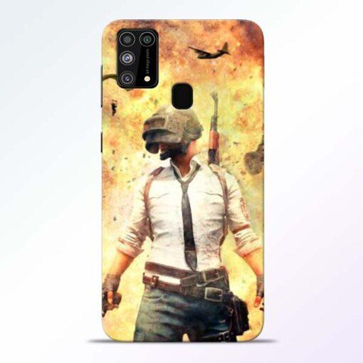 Fire Pubg Samsung Galaxy M31 Back Cover