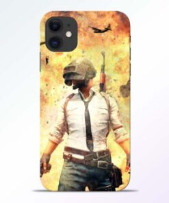 Fire Pubg iPhone 11 Back Cover