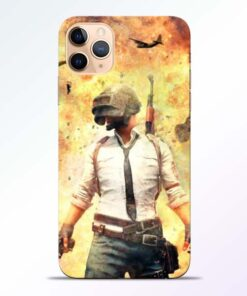 Fire Pubg iPhone 11 Pro Back Cover