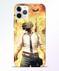 Fire Pubg iPhone 11 Pro Max Back Cover
