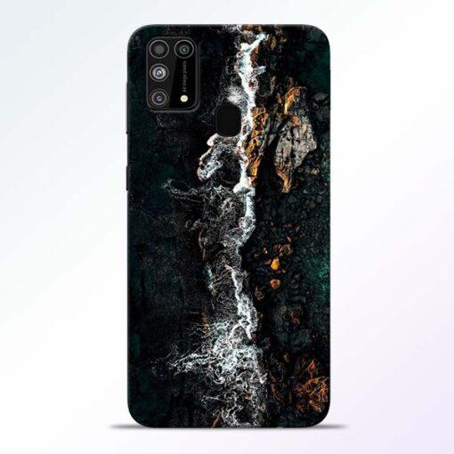 Half Break Samsung Galaxy M31 Back Cover