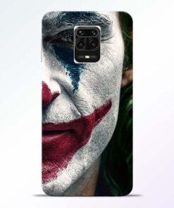 Jocker Cry Redmi Note 9 Pro Max Back Cover