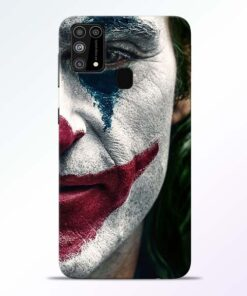 Jocker Cry Samsung Galaxy M31 Back Cover