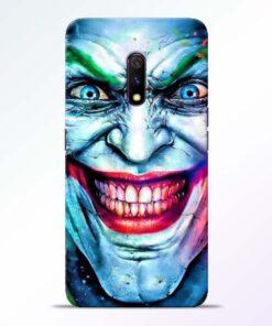 Joker Face Realme X Back Cover
