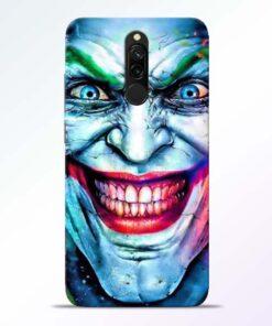 Joker Face Redmi 8 Back Cover