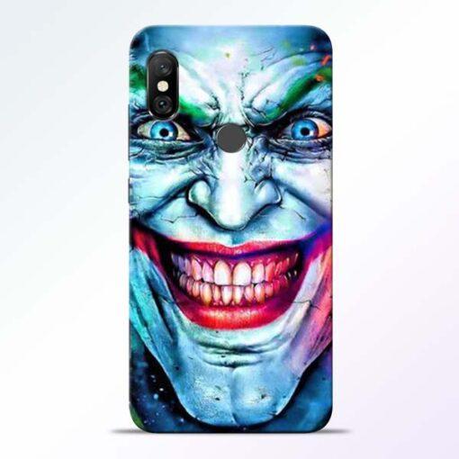 Joker Face Redmi Note 6 Pro Back Cover