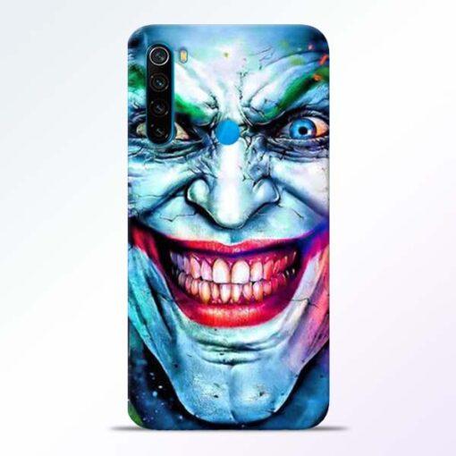 Joker Face Redmi Note 8 Back Cover