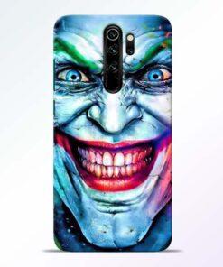 Joker Face Redmi Note 8 Pro Back Cover