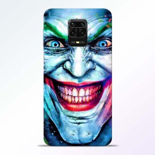 Joker Face Redmi Note 9 Pro Back Cover