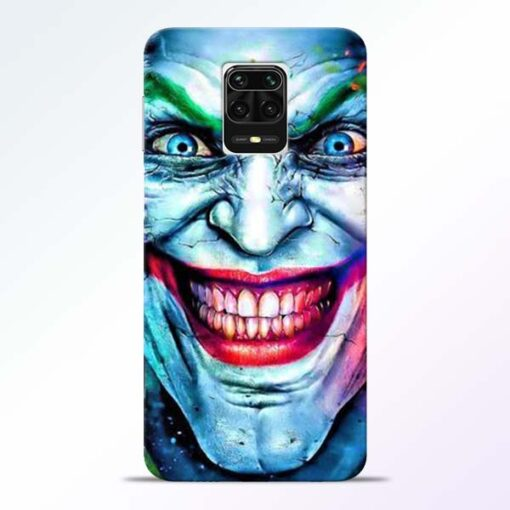 Joker Face Redmi Note 9 Pro Max Back Cover