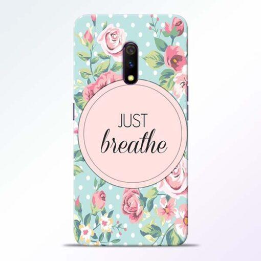 Just Breathe Realme X Back Cover
