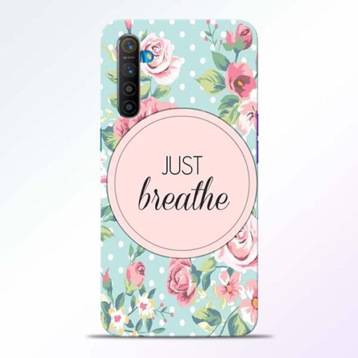 Just Breathe Realme XT Back Cover