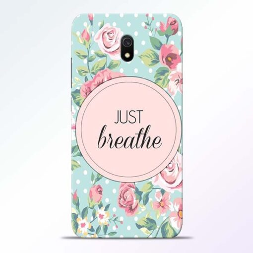 Just Breathe Redmi 8A Back Cover