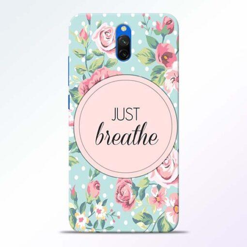 Just Breathe Redmi 8A Dual Back Cover