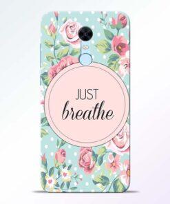 Just Breathe Redmi Note 5 Back Cover