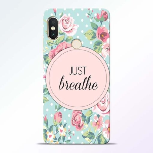 Just Breathe Redmi Note 5 Pro Back Cover