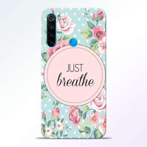 Just Breathe Redmi Note 8 Back Cover