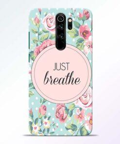 Just Breathe Redmi Note 8 Pro Back Cover