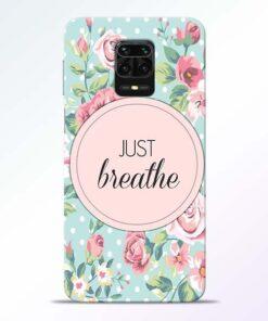 Just Breathe Redmi Note 9 Pro Back Cover