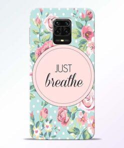 Just Breathe Redmi Note 9 Pro Max Back Cover