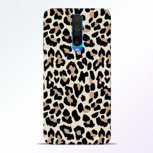 Leopard Pattern Poco X2 Back Cover