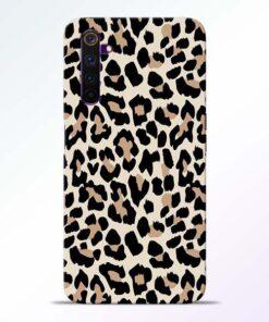 Leopard Pattern Realme 6 Back Cover
