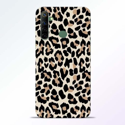 Leopard Pattern Realme 6i Back Cover