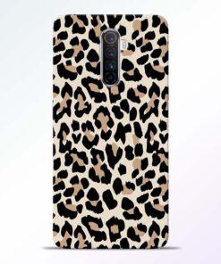 Leopard Pattern Realme X2 Pro Back Cover
