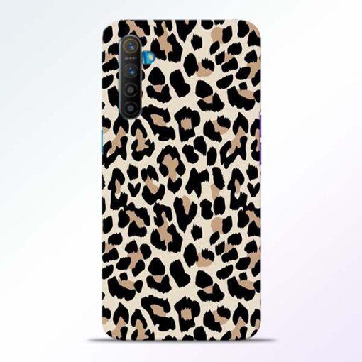 Leopard Pattern Realme XT Back Cover