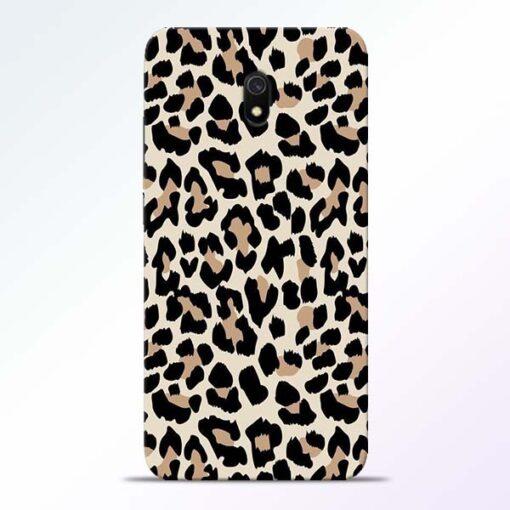 Leopard Pattern Redmi 8A Back Cover
