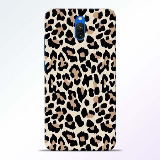 Leopard Pattern Redmi 8A Dual Back Cover