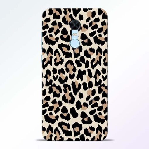 Leopard Pattern Redmi Note 5 Back Cover