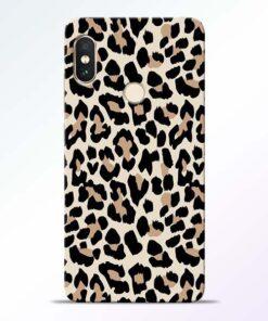 Leopard Pattern Redmi Note 5 Pro Back Cover